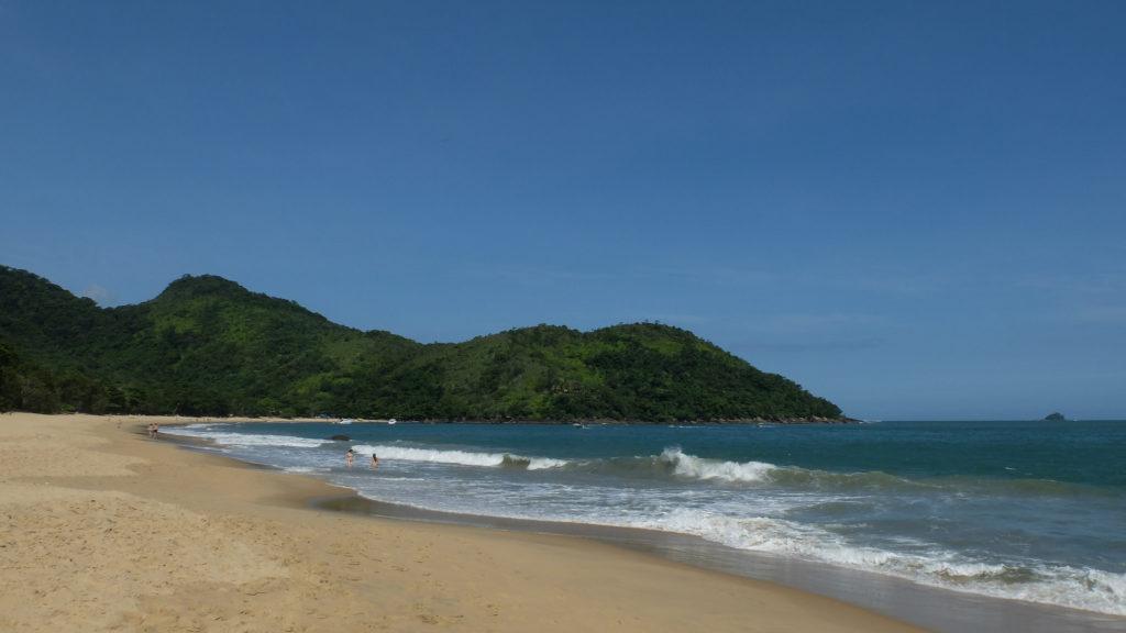 Praias de Ubatuba - Praia do Bonete