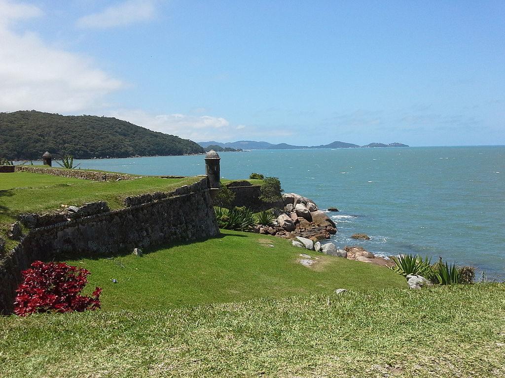 Forte Anhutamirim em Florianópolis