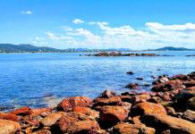 Praias de Penha SC - por Adriane Rado - Wikimedia - Praia da Armação