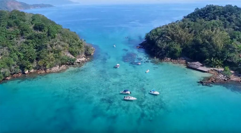 Melhores praias de Angra dos Reis - Lagoa Azul