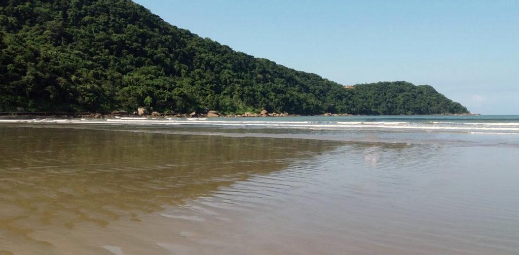 Melhores praias do litoral sul SP - Praia do Canto do Forte - Praia Grande
