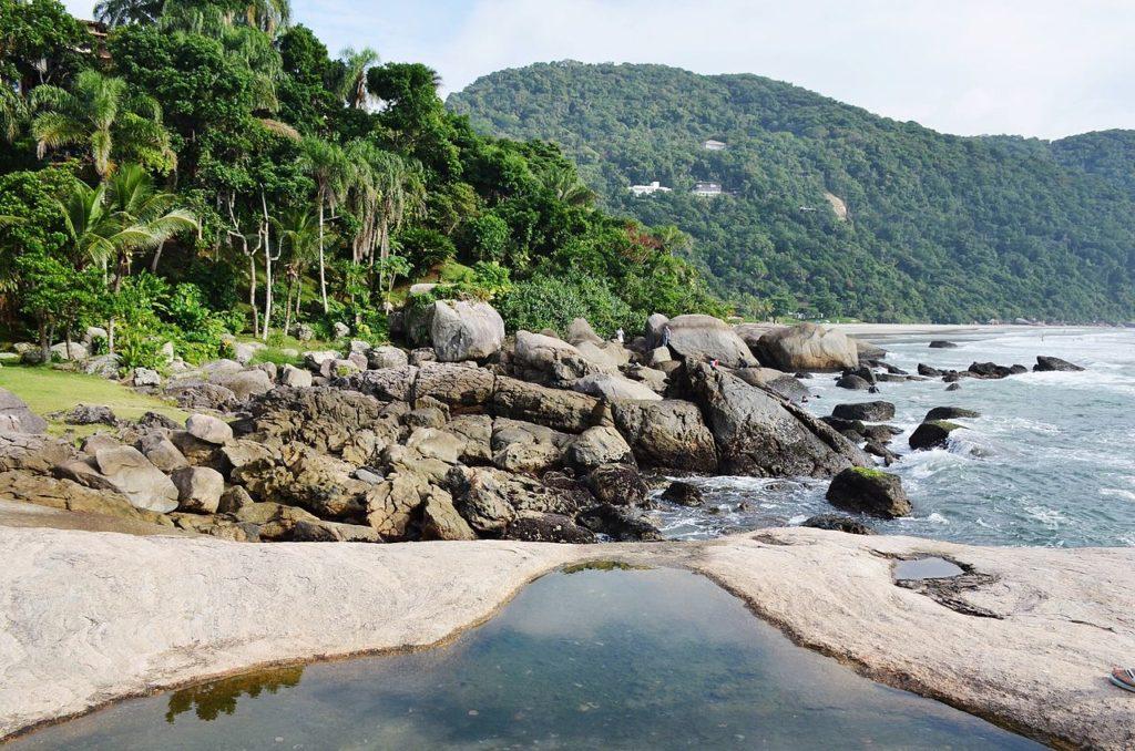 Melhores praias do litoral sul SP - Praia Iporanga