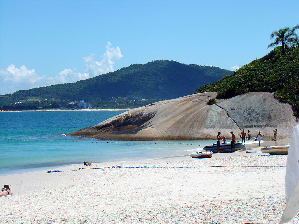 Melhores praias de Floripa - Ilha do Campeche