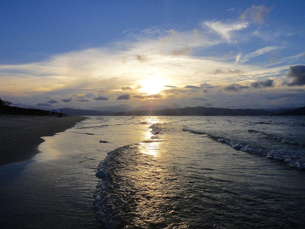 Melhores praias de Floripa - Praia da Daniela