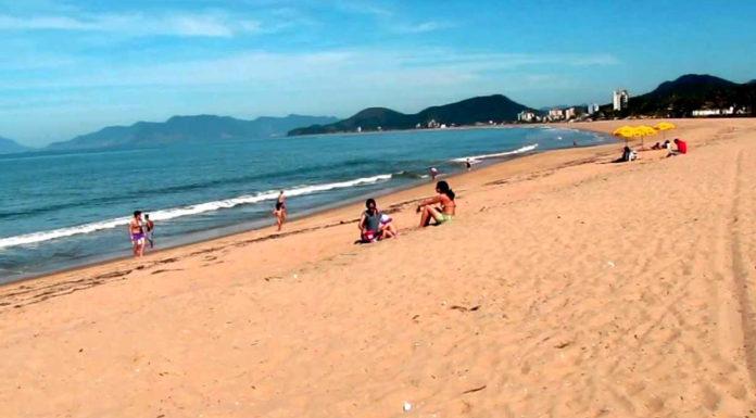 Praia da Cocanha caraguatatuba