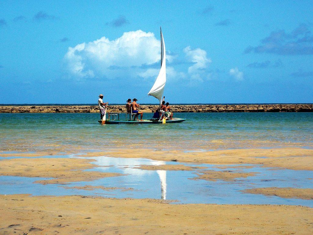 Praias de Ipojuca Pernambuco - Muro Alto por Beto Quissak