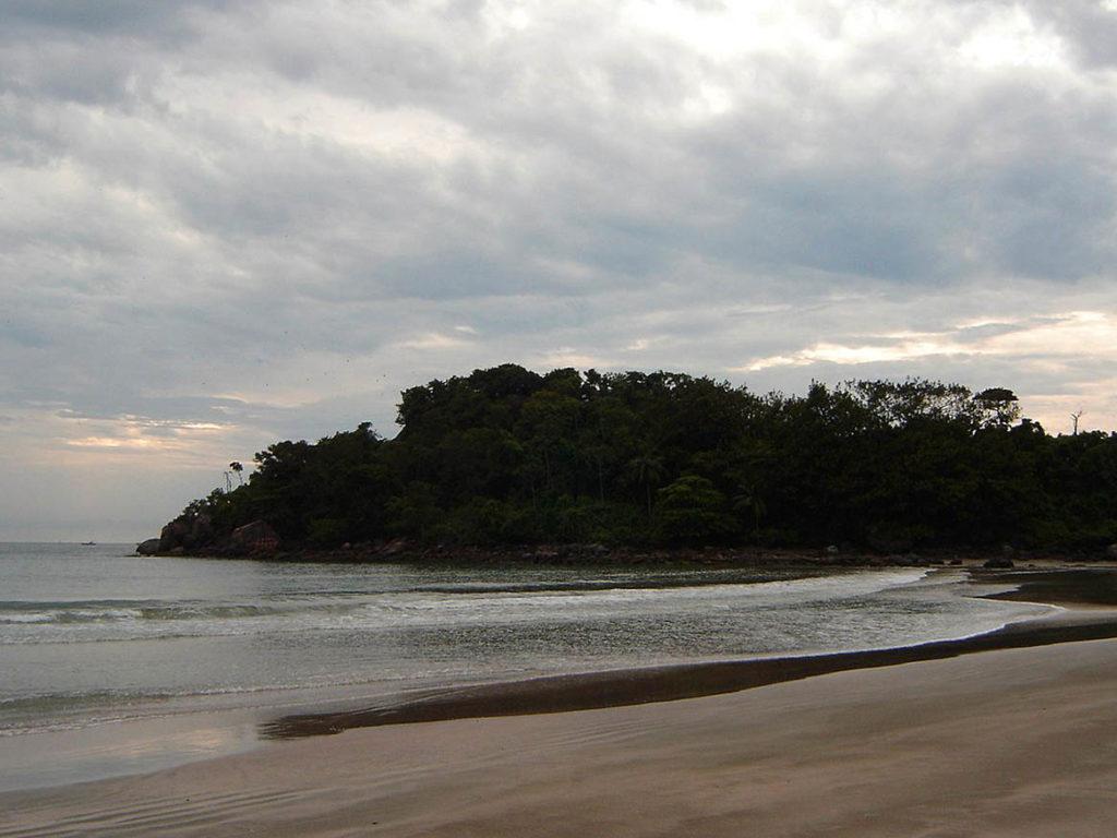 Praia Branca Guarujá