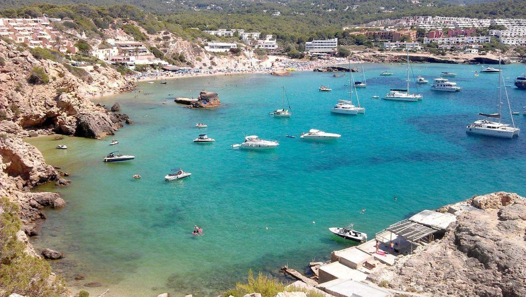 Onde fica Ibiza no mapa - por MrPepanos