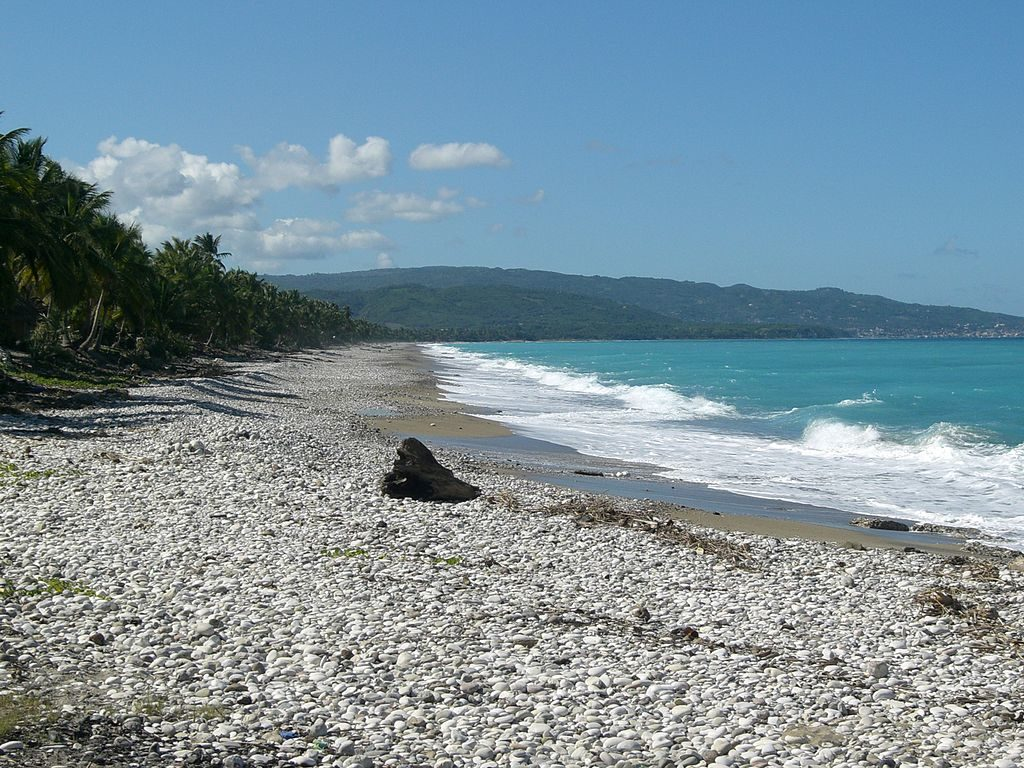 Onde fica o Haiti - por bruno le bansais