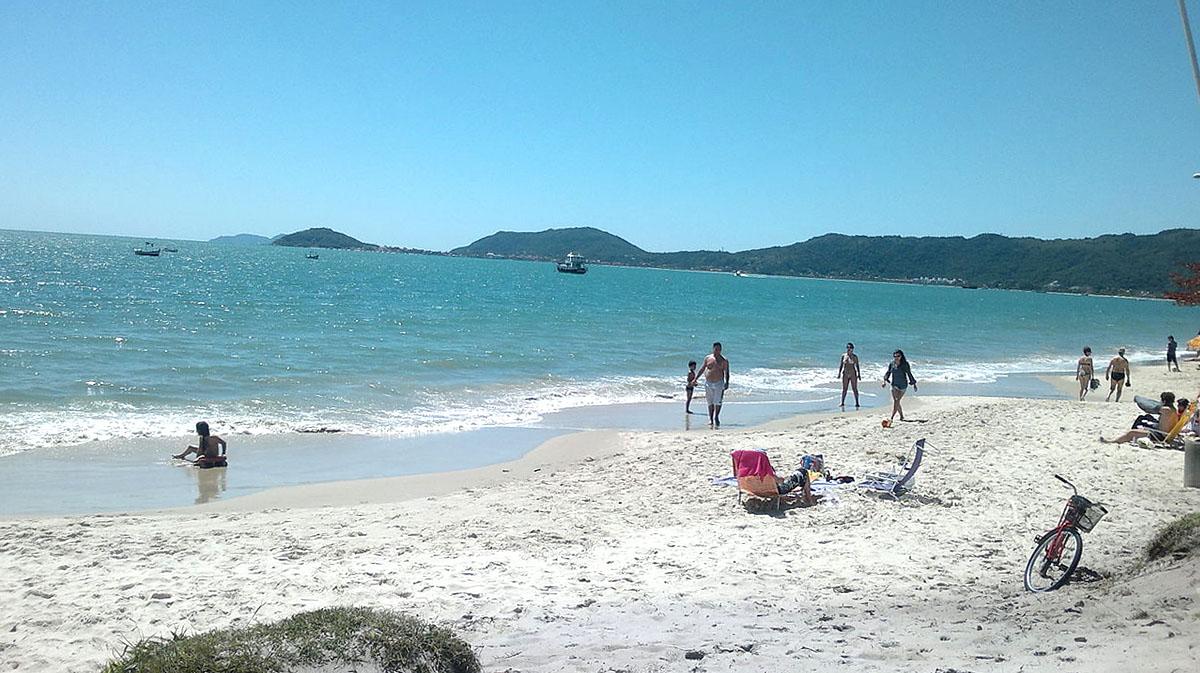Praia Canasvieiras Florianopolis Floripa