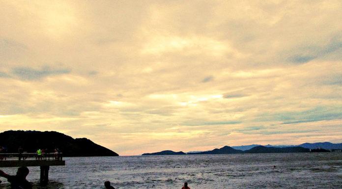 Praia Gonzaga Santos