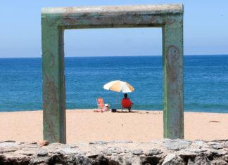 Praia Boiçucanga no litoral norte São Sebastião