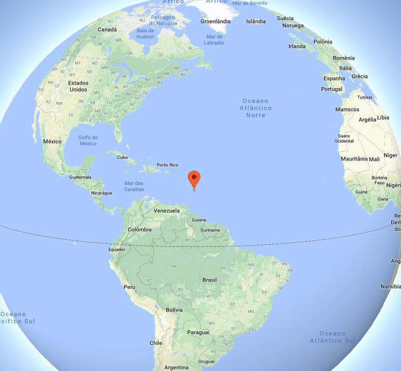 Onde fica Barbados