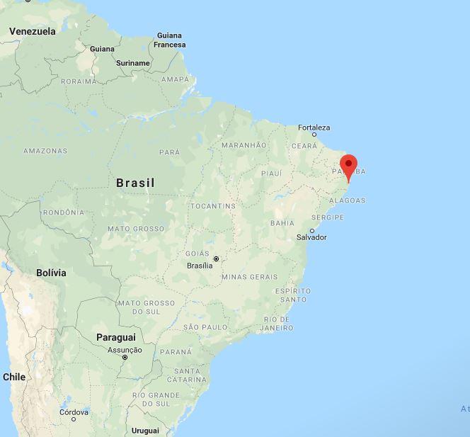 Onde fica Porto de Galinhas no mapa