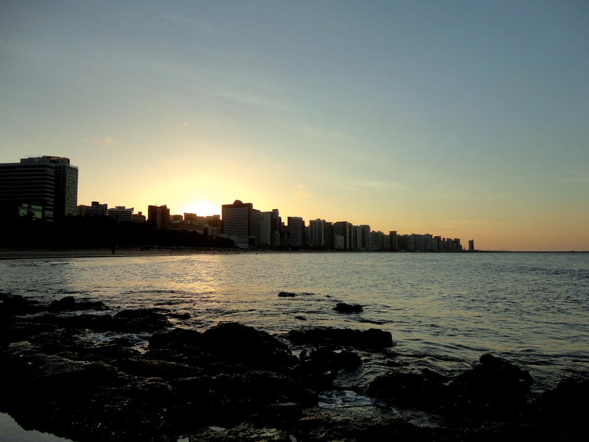 Praia de Meireles - Fortaleza Ceará CE